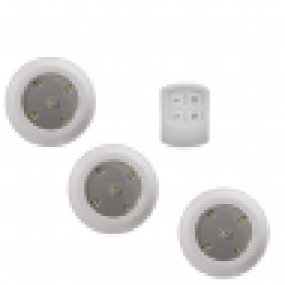 ledverlichting draadloze led spot 3 pack