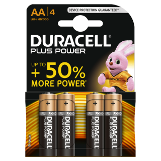 duracell plus 4 AA