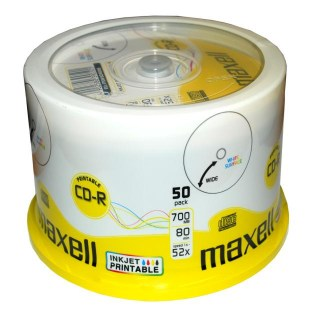 maxell cdr printable spindel 50