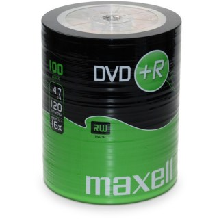 maxell dvd + r spindel 100